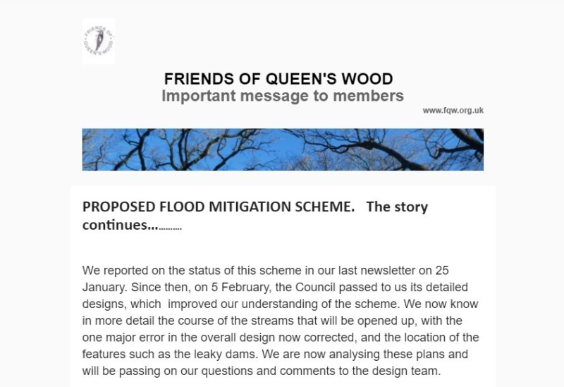 proposed Flood Mitigation Scheme Newsletter