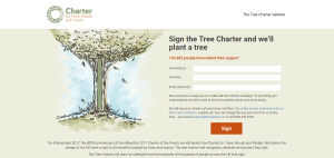 Sign the Tree Charter