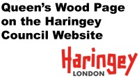 Queens Wood on Council website link