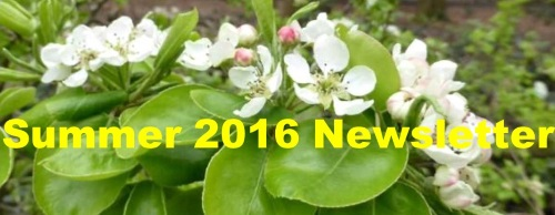 Summer 2016 Newsletter link